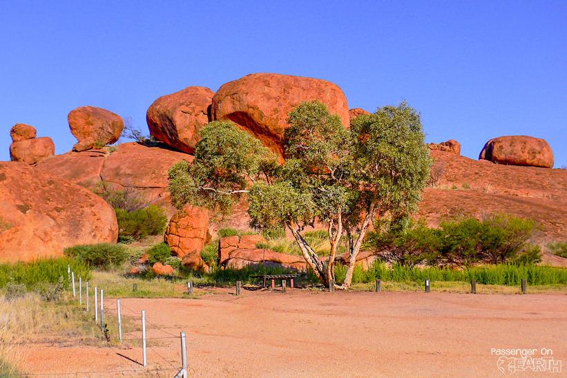 Devil Marbles Sehenswürdigkeiten Outback