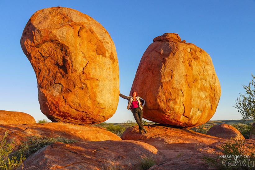 Devil Marbles im Outback Australien