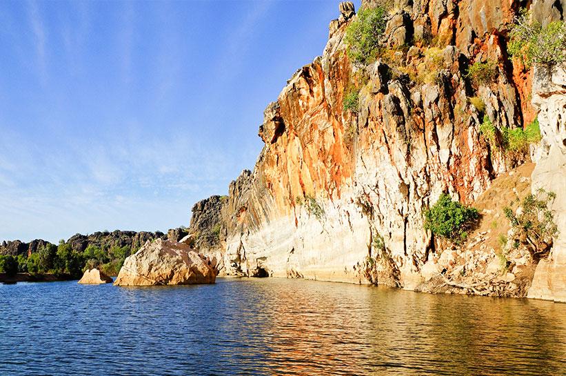 Danggu Geikie Gorge im Outback Australien