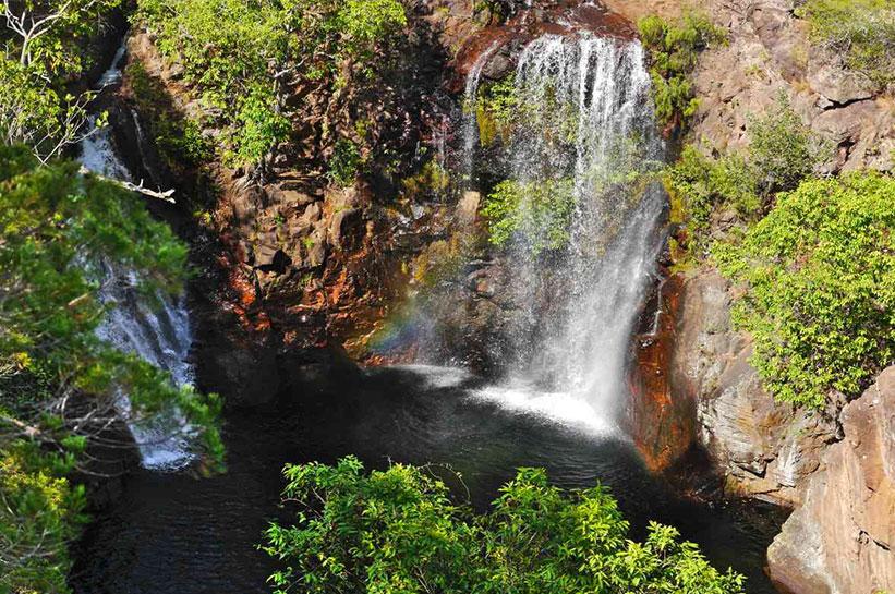 Litchfield National Park im Outback Australien Wasserfall