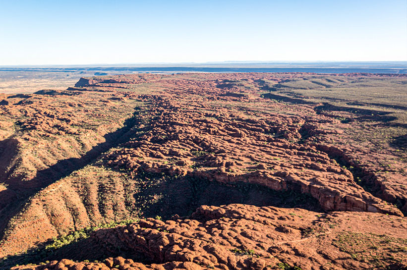 Kings Canyon im Australischen Outback