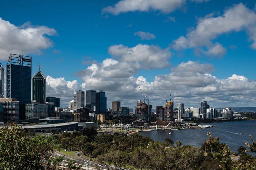 Westaustralien Hauptstadt Perth