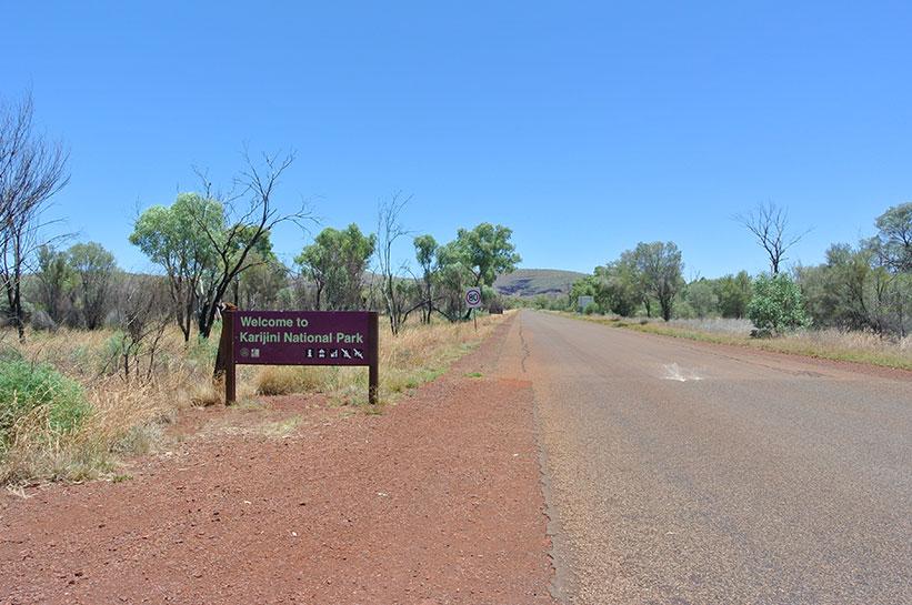 Westaustralien Karijini Nationalpark