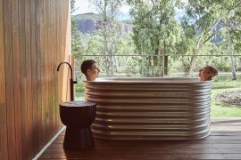 Badewanne in Lodge in Queensland
