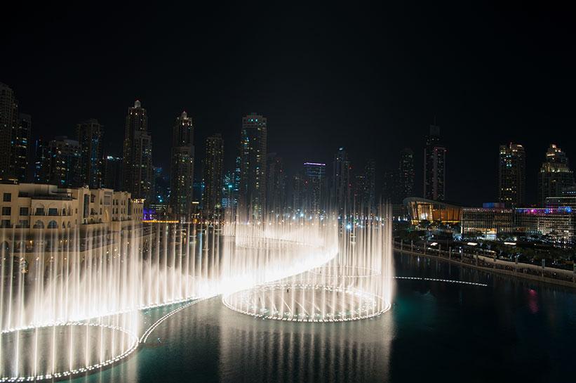 Dubai Tipp Wassershow