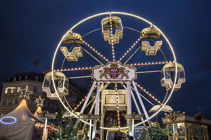 Hamburg romantischer Weihnachtsmarkt