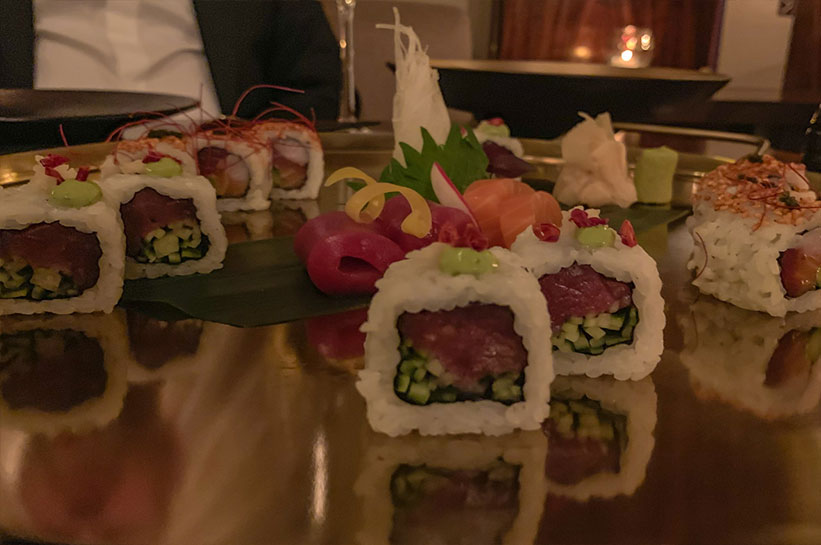 Sushi im Nikkei Nine