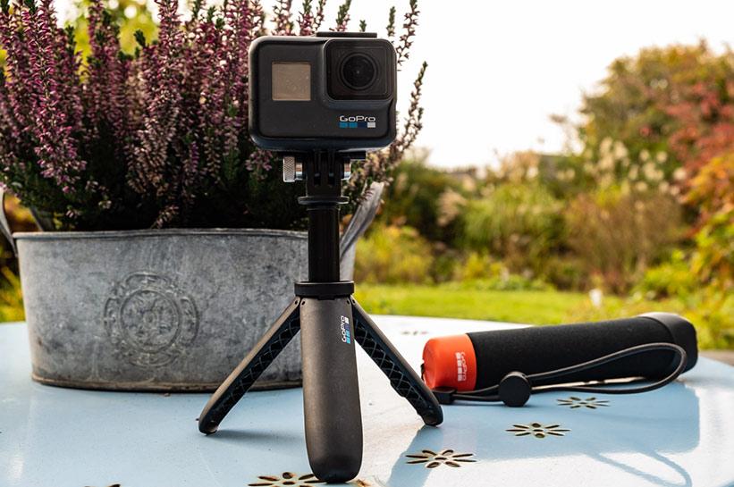 Eine Action Cam. Perfekt für den Aktiv Urlaub
