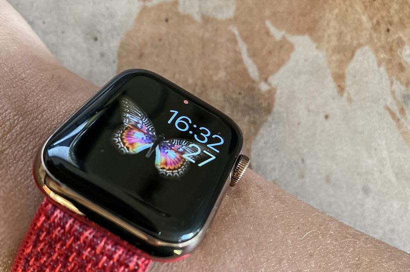 Hilfreicher Begleiter auf Reisen: die Apple Watch