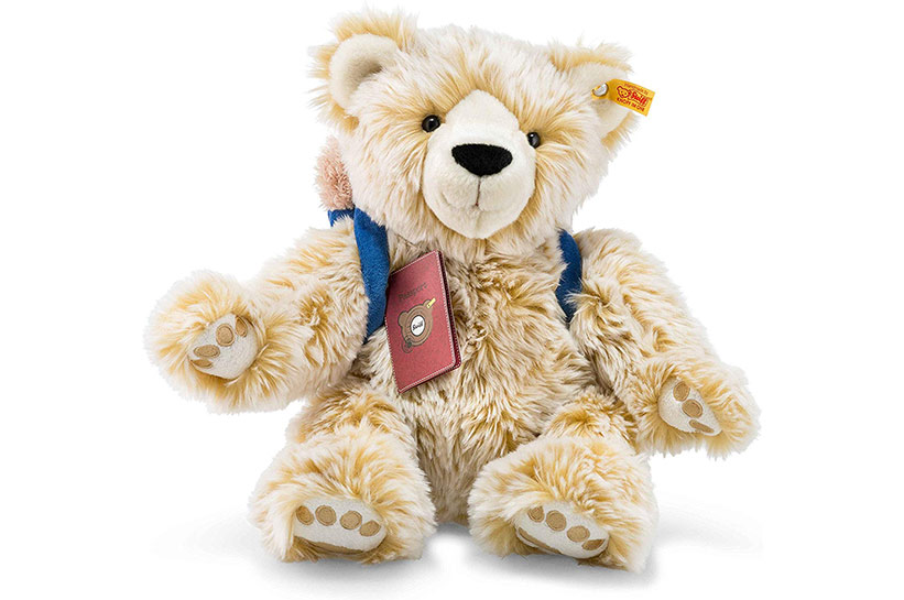 Nie allein auf Reisen mit dem Teddy