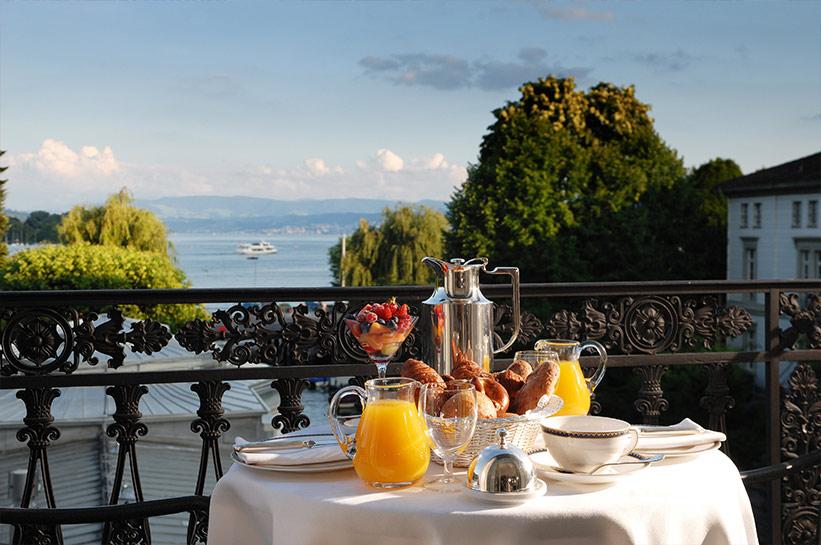 Baur au Lac Zürich - das beste Hotel Europas!