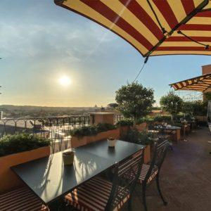 Hotel de la Ville – über den Dächern von Rom