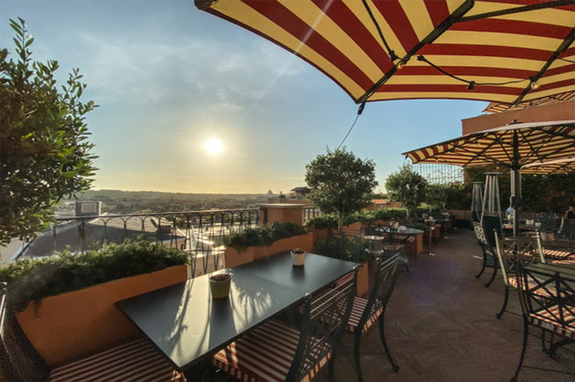 Rocco Forte Hotel de la Ville - über den Dächern von Rom