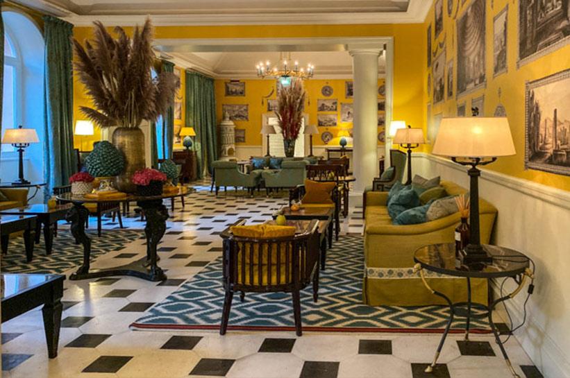 Interior Rocco Forte Hotel de la Ville