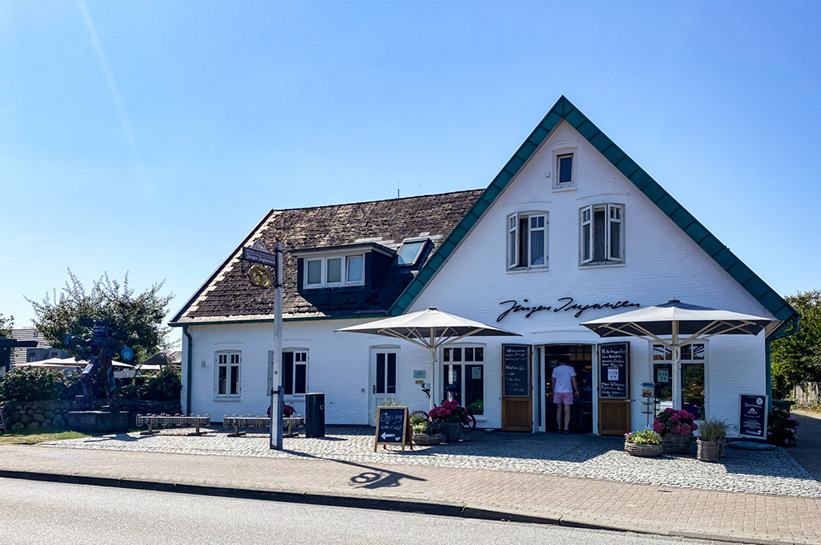 Bäckerei Ingwers Cafe in Morsum Sylt