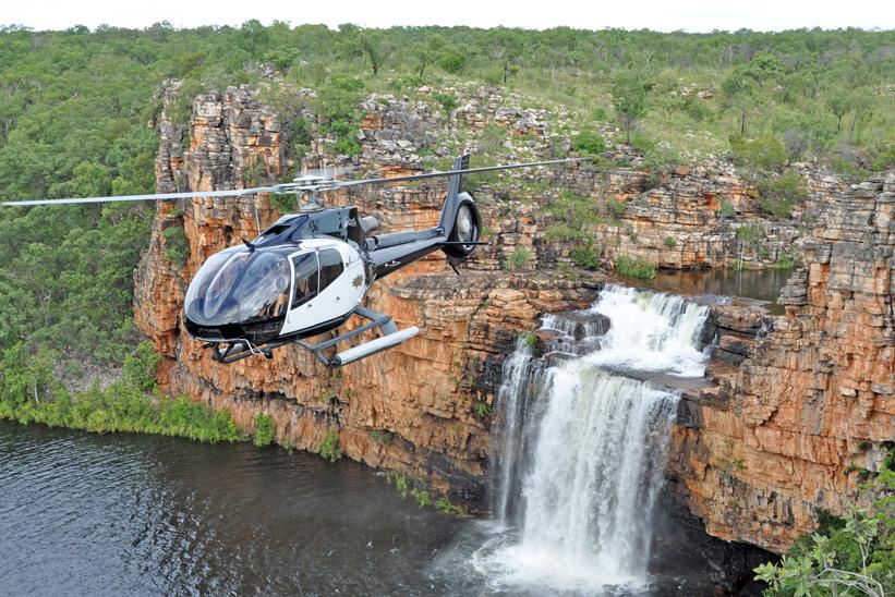 Australien Kimberley Wasserfall