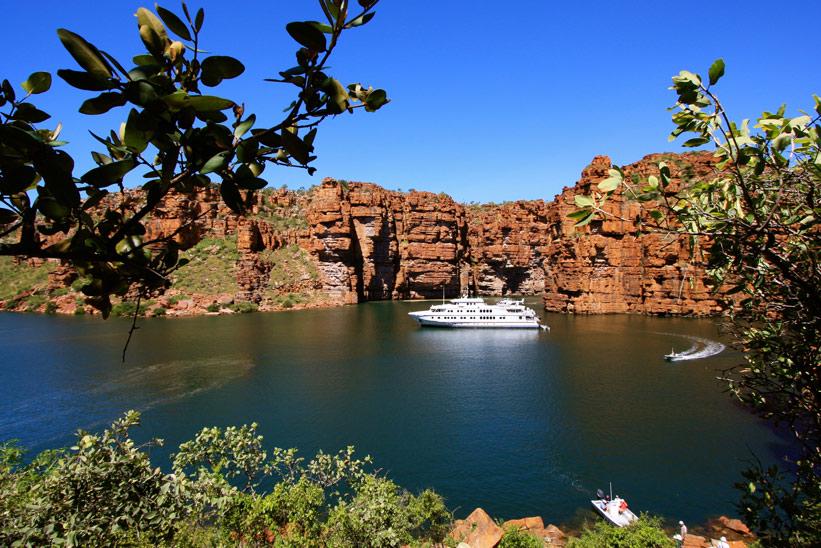 Australien Kimberley Tour Schiff