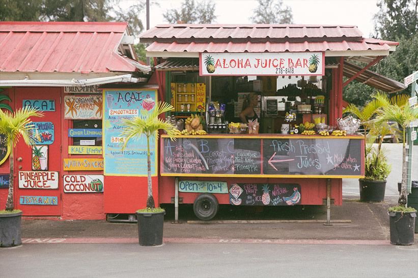 Tipp auf Kauai: Foodtrucks mit Kids