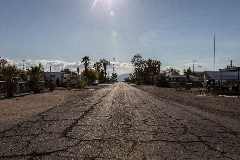 Verlassener Ort Kalifornien