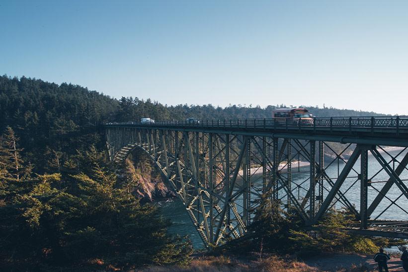 Deception Pass Brücke