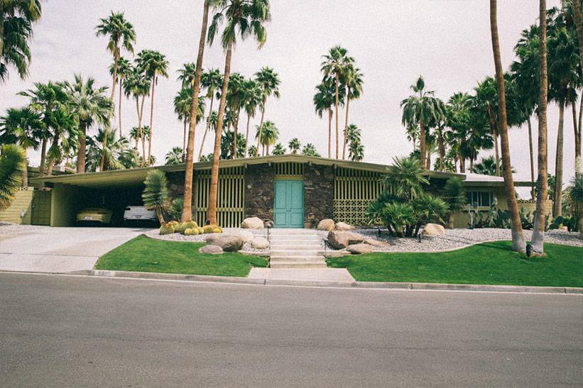 Tour: Häuser und Prominente in Palm Springs