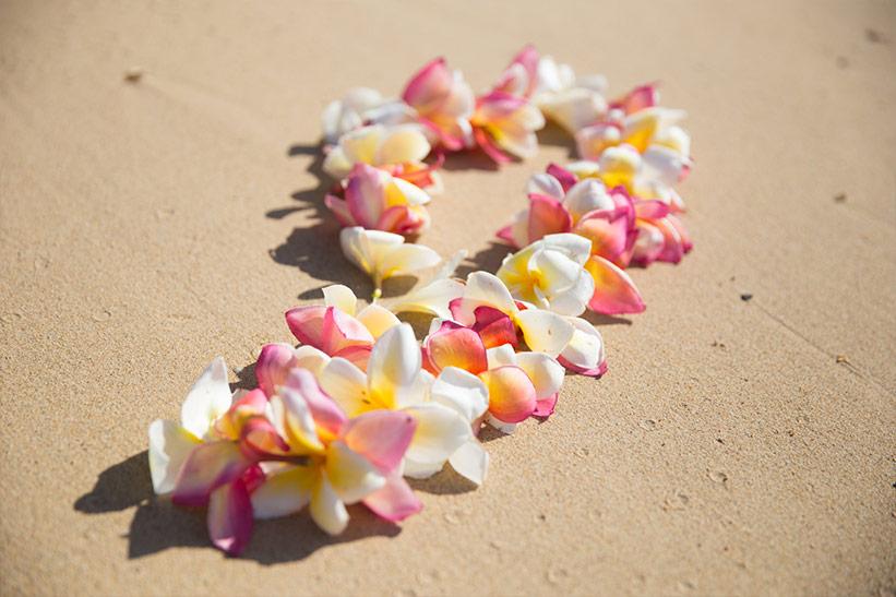 Blumenkette Kauai