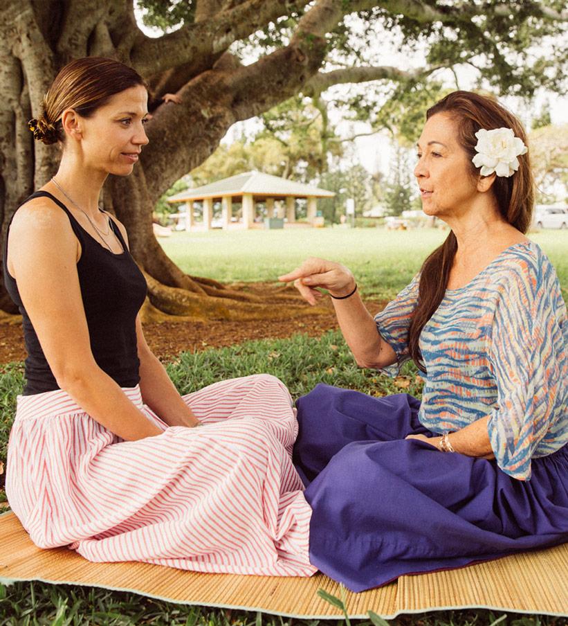 Unterricht Hula Tanz Kauai