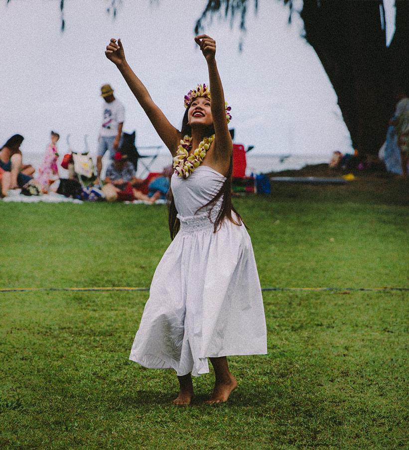 Hula Tanz auf Hawaii