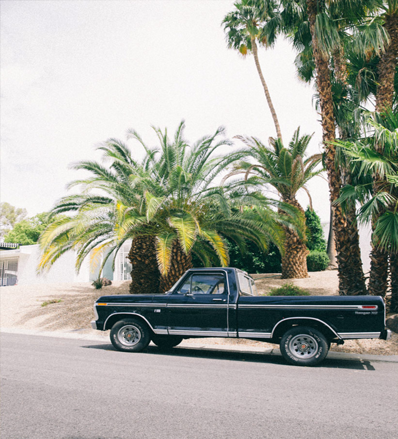 Auto in Palm Springs USA
