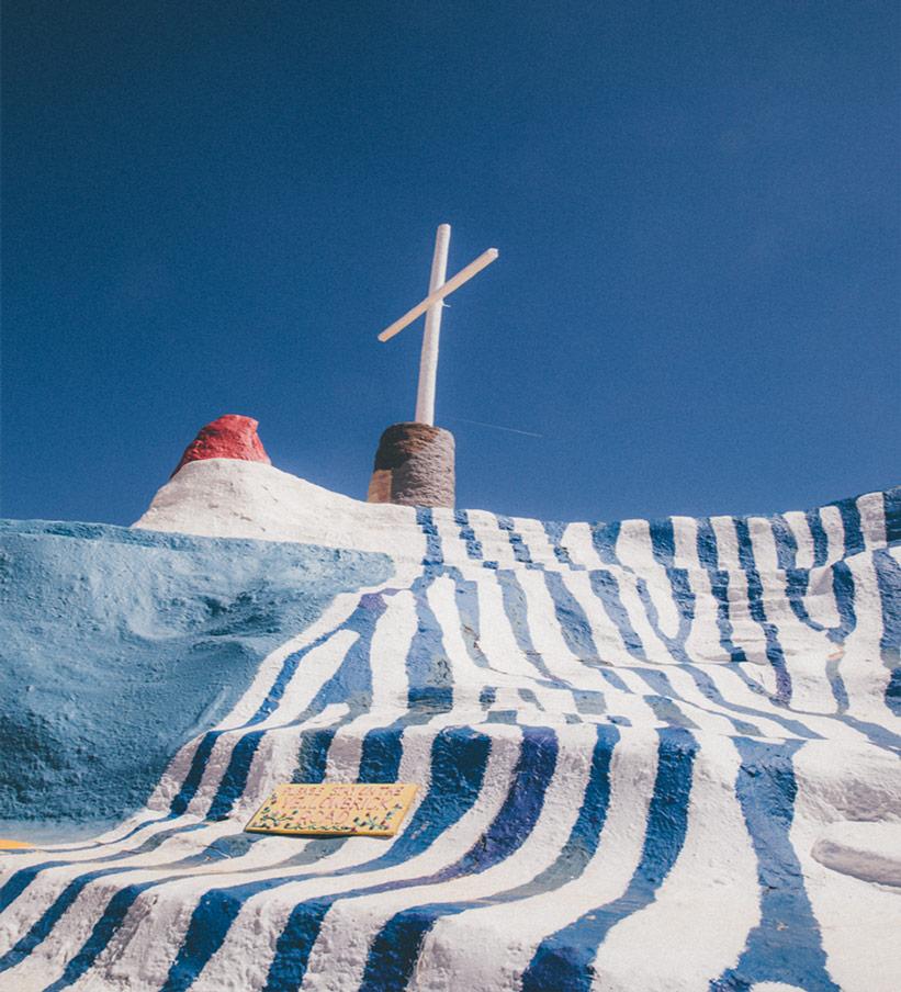 Kreuz Salvation Mountain