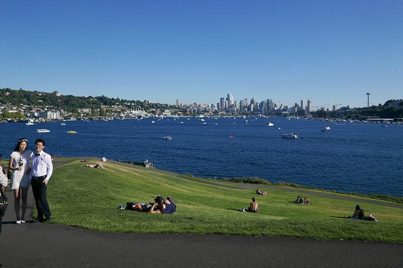 Seattle Tipps: Park mit Ausblick