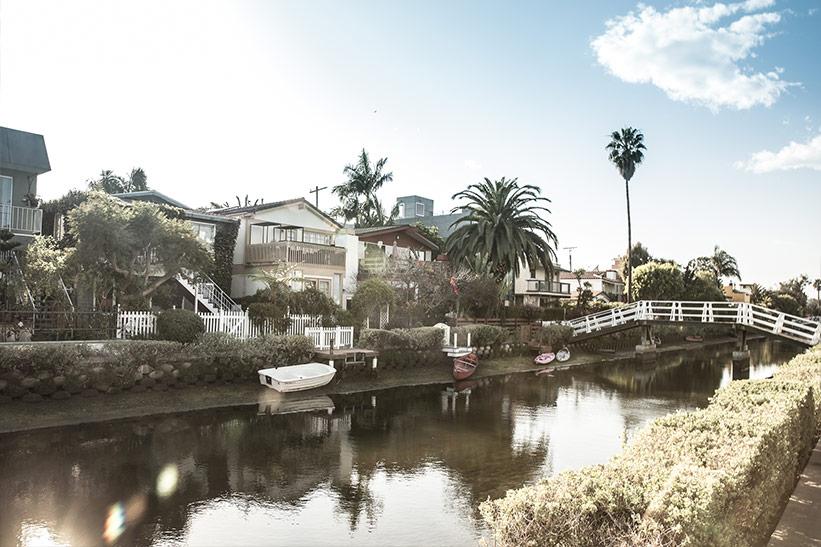 Venice Beach Tipp: Spazieren an den Kanälen