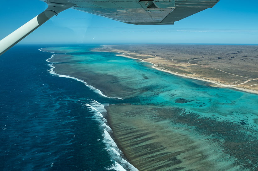 Flug über das Ningaloo Reef Westaustralien / Flight over Ningaloo Reef