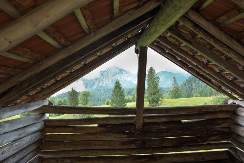 Berghütte Bayernurlaub