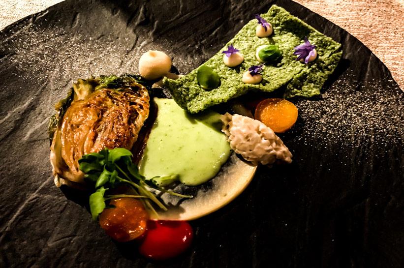 Guide Michelin Gourmet Restaurant Luce D´Oro
