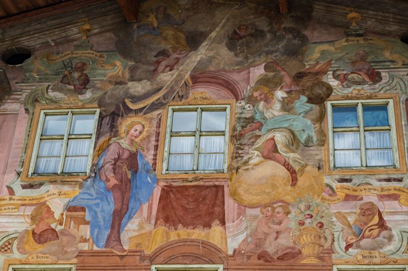 Wandmalerei Mittenwald
