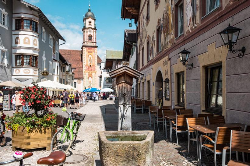 Brunnen Mittenwald