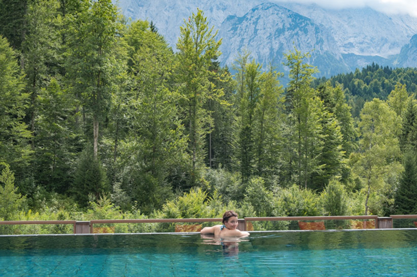 Schloss Elmau Pool Spa