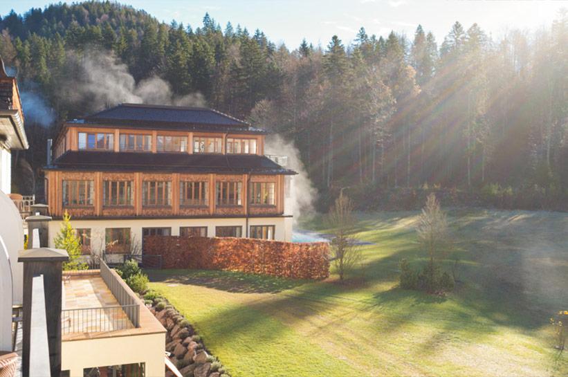 Schloss Elmau Erfahrung Spa und Wellness