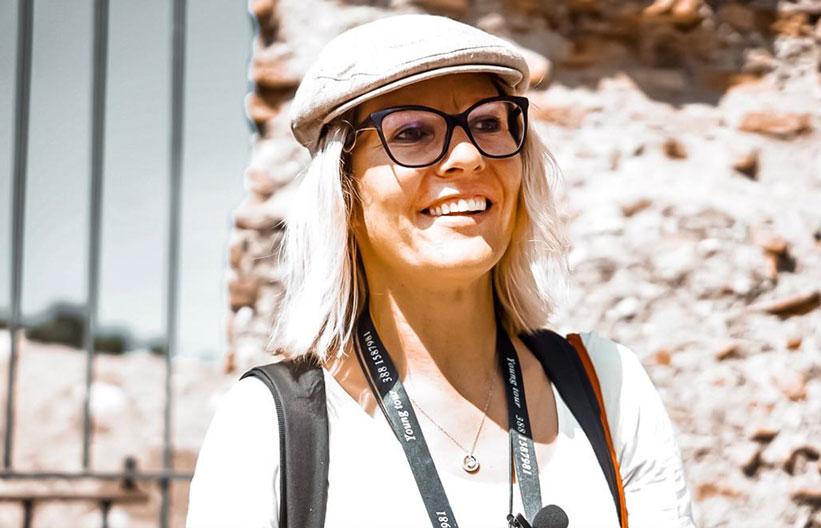 Reiseführerin in Rom Privat Touren