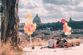 Geburtstag feiern in Rom