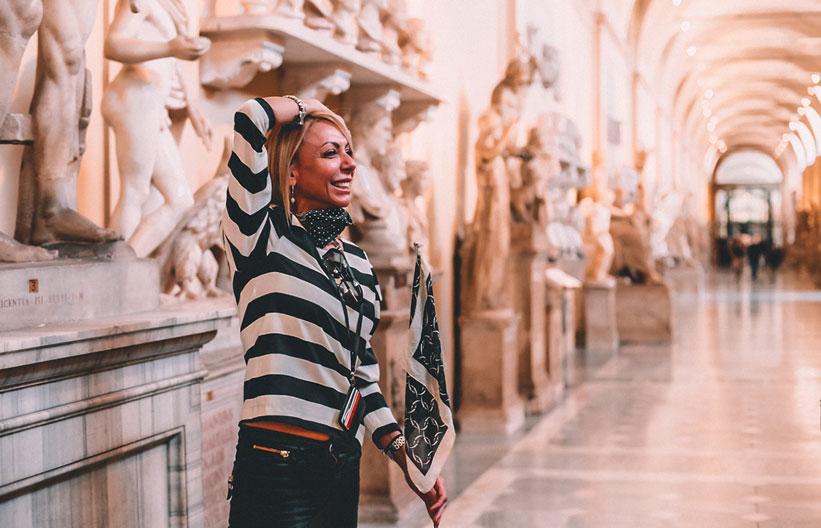 Guide im Vatikan Museum