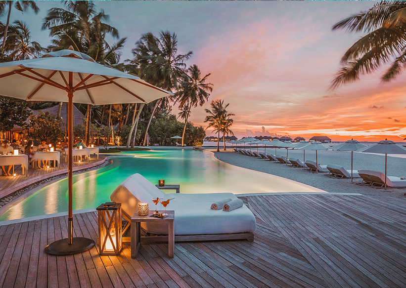 Malediven Como Maalifushi Pool