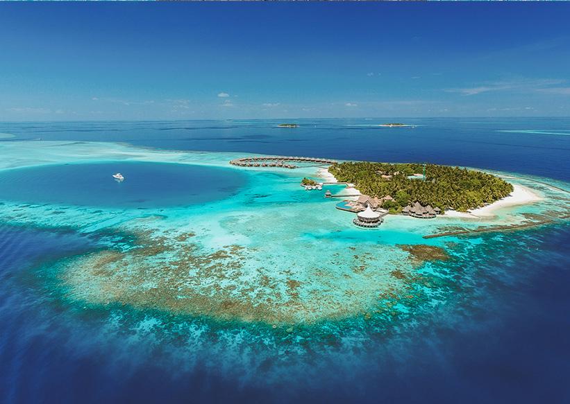 Malediven Insel Baros