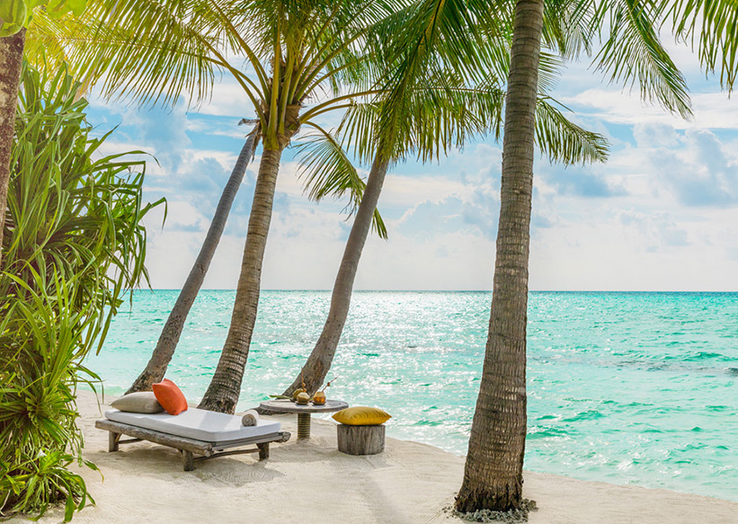 Traumhafte Strände Mauritius. Seychellen oder Malediven