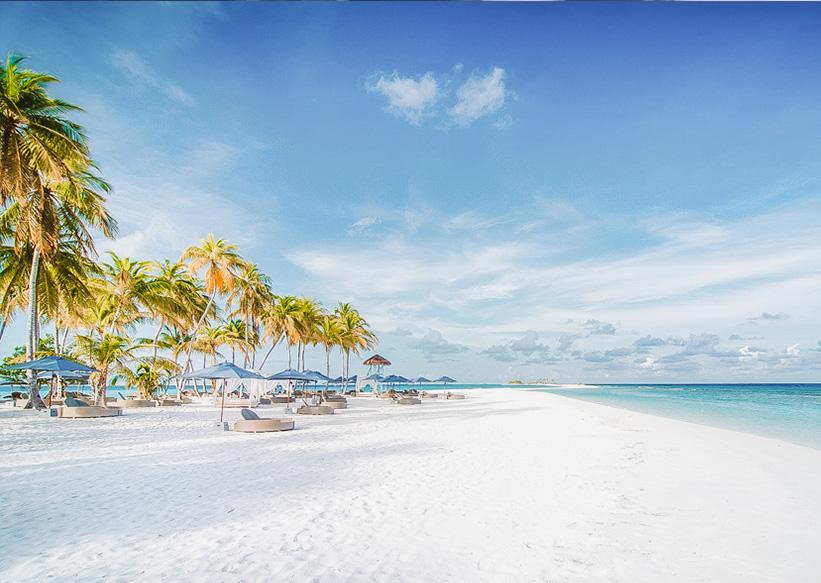 Malediven Strand Finolhu
