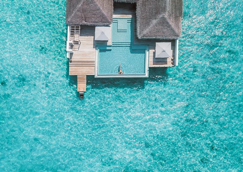 Wasservilla Indischer Ozean