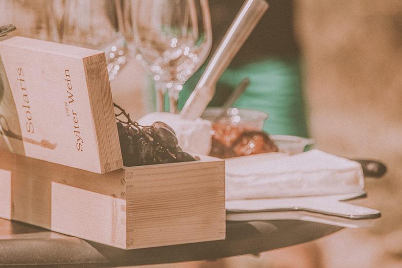 Wein Probe Sylt